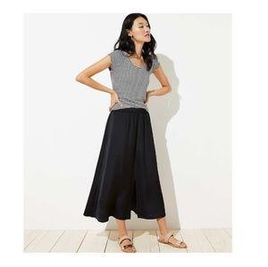 Ann Taylor LOFT Velvet Maxi Skirt